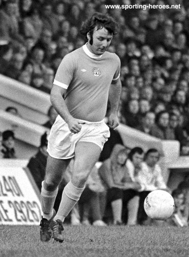 Glyn Pardoe - Manchester City FC - Biography of his playing career at Man City.