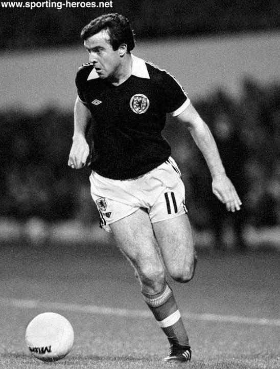 john robertson - scottish caps 1978-83