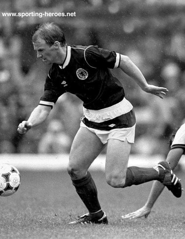 David Speedie - Scotland - Scottish Caps 1985-89