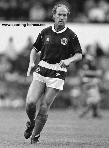 Ian Wilson - Scotland - Scottish Caps 1987-88