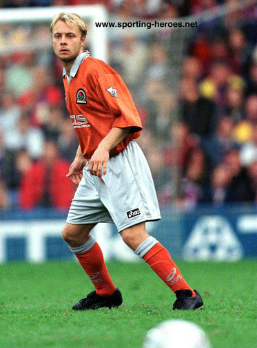 Anders Andersson - Blackburn Rovers - League appearances.