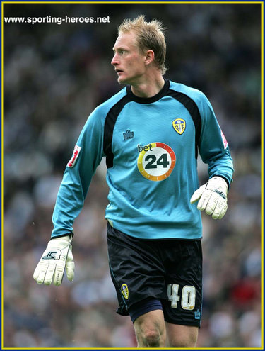 Casper Ankergren - Leeds United FC - League Appearances