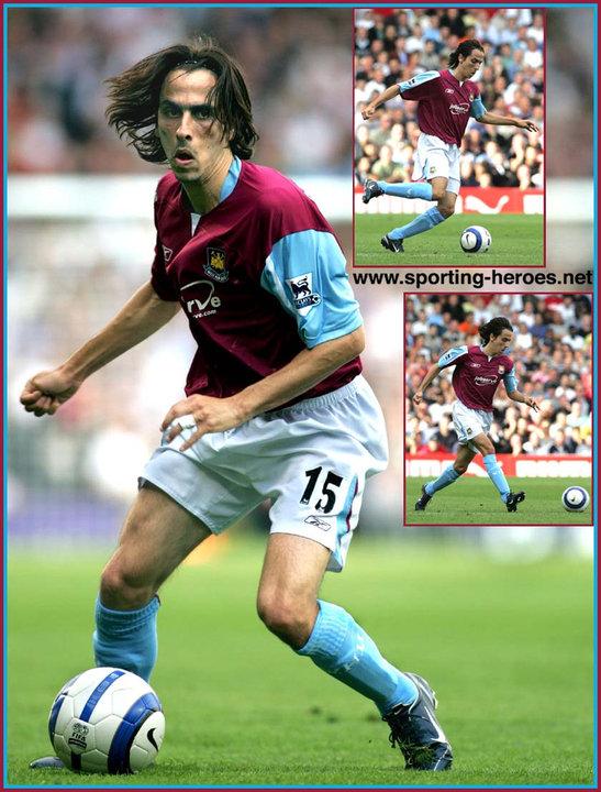 Yossi BENAYOUN - Premiership Appearances - West Ham United FC