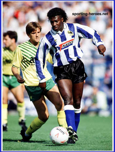 Dave Bennett - Sheffield Wednesday - League appearances.