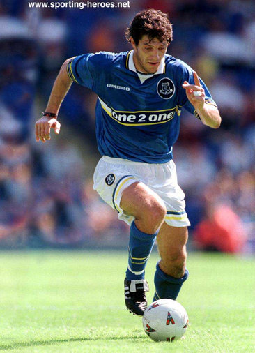Slaven Bilic - Everton FC - Premiership Appearances
