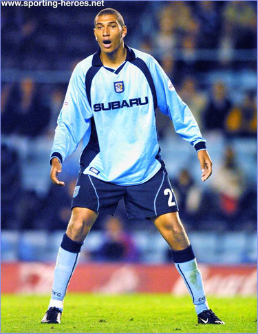 Jay Bothroyd - Coventry City FC - League Appearances