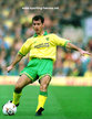 Mark BOWEN - Norwich City FC - League appearances for The Canaries.