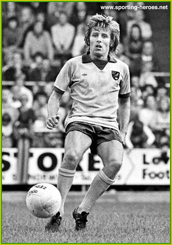 Phil Boyer - Norwich City FC - League appearances for The Saints.