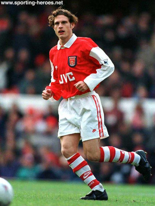 Adrian CLARKE - League appearances. - Arsenal FC