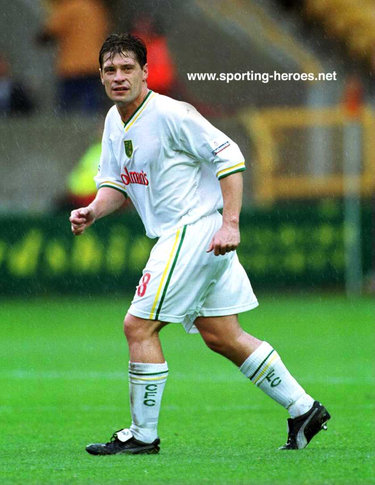 Tony Cottee - Norwich City FC - League Appearances