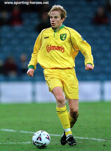 Erik Fuglestad - Norwich City FC - League Appearances
