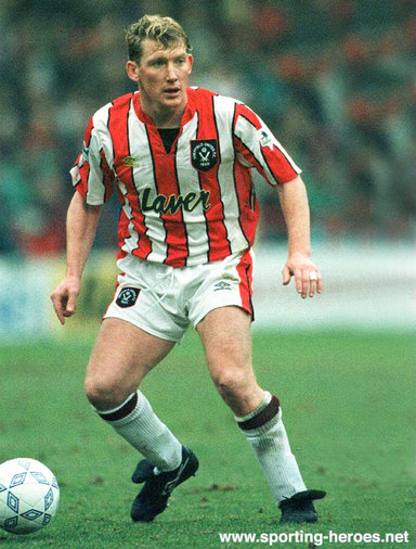 Kevin Gage - Sheffield United FC - League appearances.
