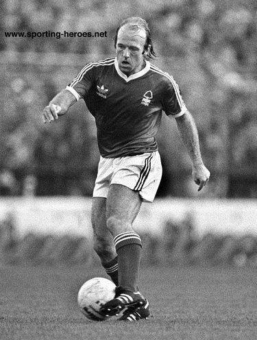 Archie Gemmill - Nottingham Forest - League appearances for Forest.