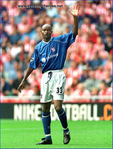 Finidi George - Ipswich Town FC - League appearances.