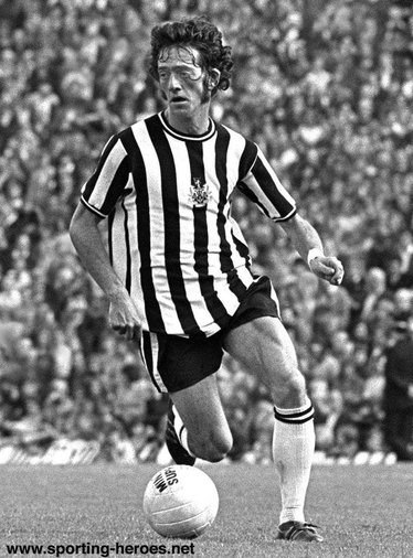 Terry Hibbitt - Newcastle United - League appearances for The Magpies.