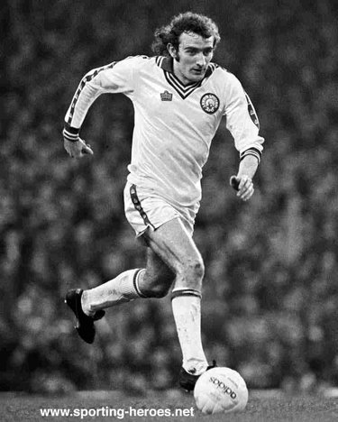 Kevin Hird - Leeds United FC - League appearances.