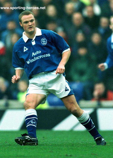 Chris Holland - Birmingham City FC - League Appearances