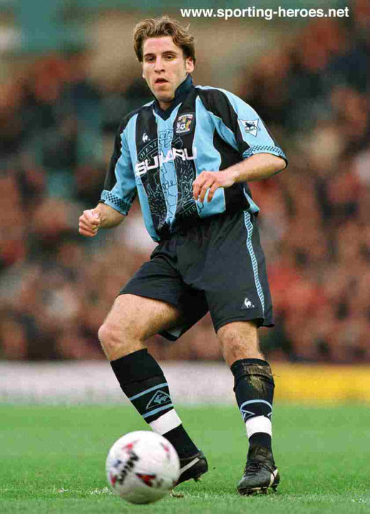 darren huckerby league appearances for the sky blues
