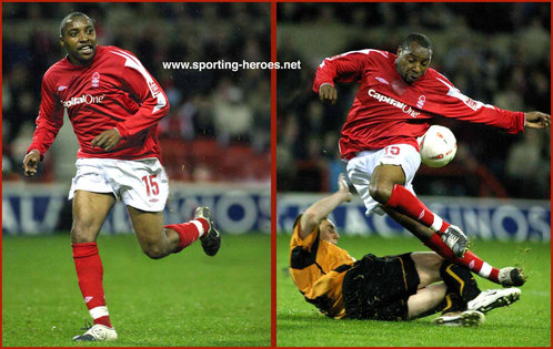 Andrew Impey - Nottingham Forest - League Appearances