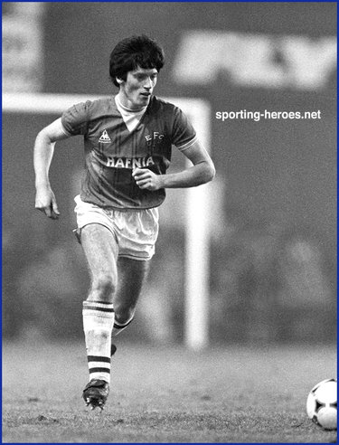 Alan Irvine - Everton FC - League Appearances