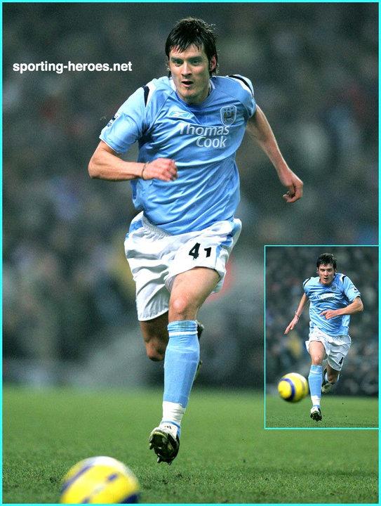 Satisfacer ciervo total  Stephen JORDAN - Premiership Appearances - Manchester City FC