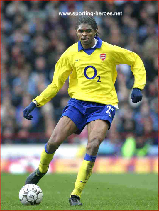 Nwankwo kanu arsenal fc part 2 2001 02 2003 04