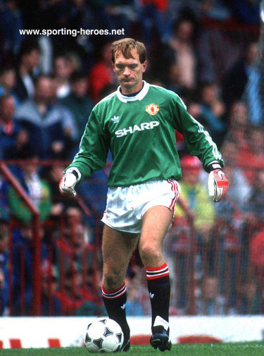 Jim Leighton - Manchester United - League appearances at Man United.