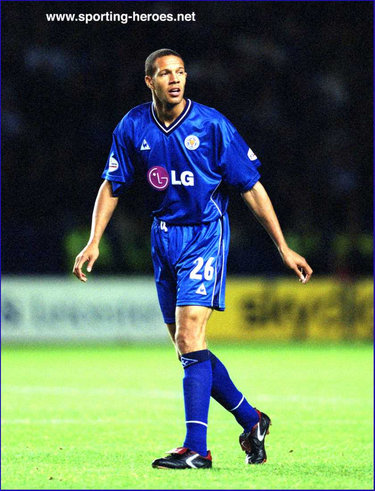 Junior Lewis - Leicester City FC - League Appearances