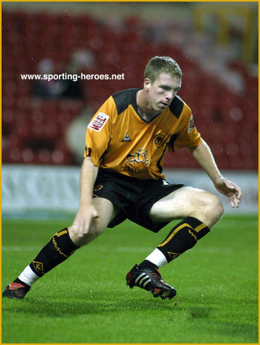Keith Lowe - Wolverhampton Wanderers - League Appearances