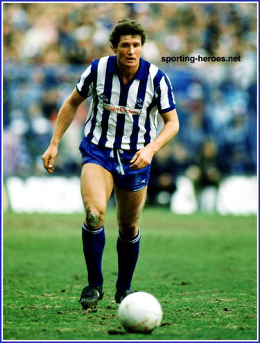 Mike Lyons - Sheffield Wednesday FC - League appearances