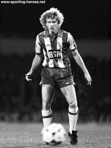 David Mills - West Bromwich Albion - League appearances.
