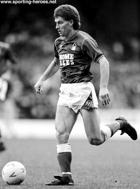 gary mills - league appearances for forest
