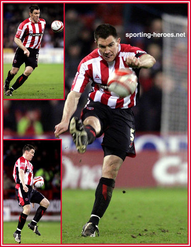 Chris Morgan - Sheffield United - League appearances for The Blades.