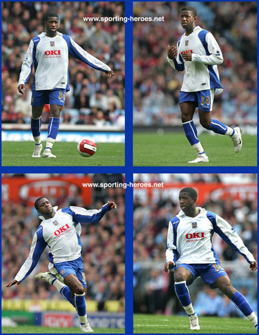 Arnold Mvuemba - Portsmouth FC - League appearances.