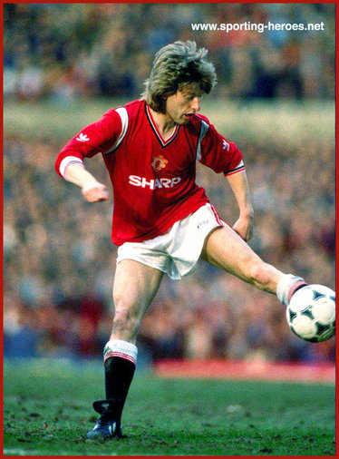 Jesper Olsen - Manchester United FC - League Appearances for Man Utd.