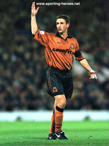 Simon Osborn - Wolverhampton Wanderers - League appearances for Wolves.