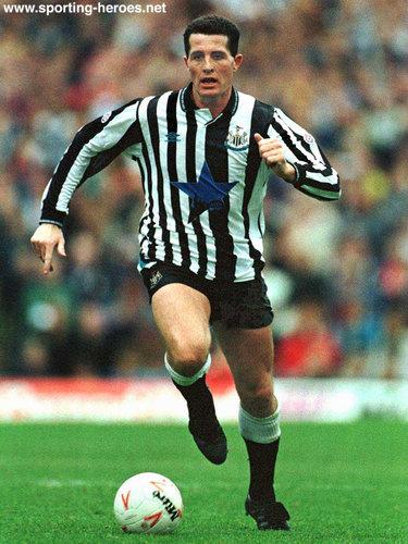 Liam O'BRIEN - League appearances. - Newcastle United FC Liam O'brien