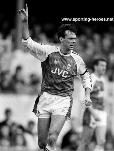 David O'Leary - Arsenal FC - League appearances for Arsenal.