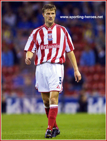 Sergei Shtanuk - Stoke City FC - League appearances.