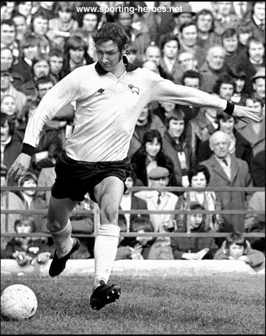 Rod Thomas - Derby County - League appearances.