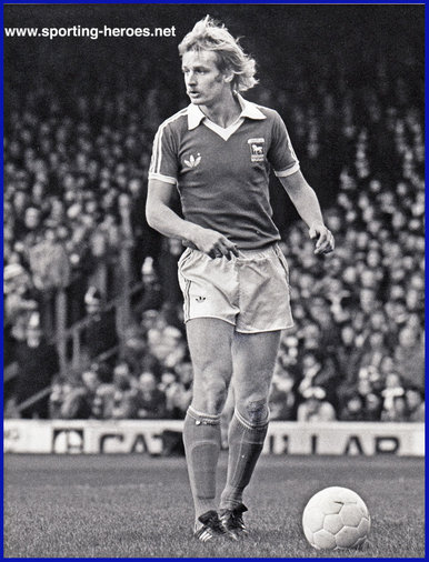 Les Tibbott - Ipswich Town FC - League appearances.