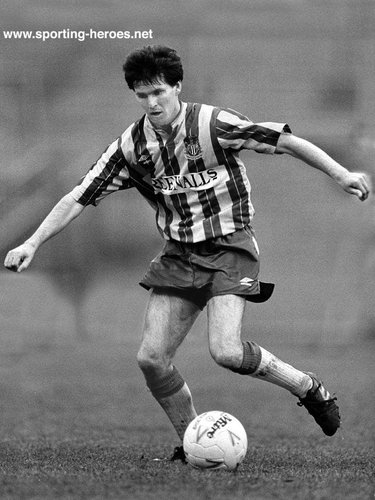 Kenny Wharton - Newcastle United - League appearances for The Magpies.