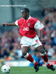 Ian WRIGHT - Arsenal FC - Premiership Appearances for The Gunners.