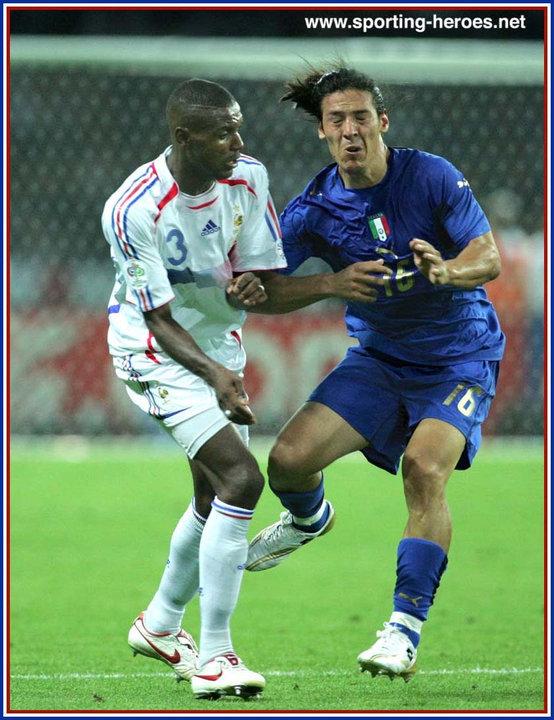 Eric abidal fifa coupe du monde 2006 world cup finals france - Coupe du monde de football 2006 ...