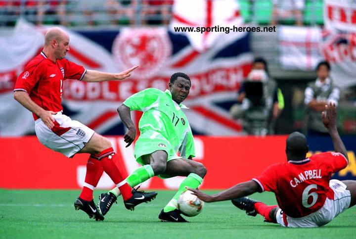 نتيجة بحث الصور عن nigeria 2002 world cup