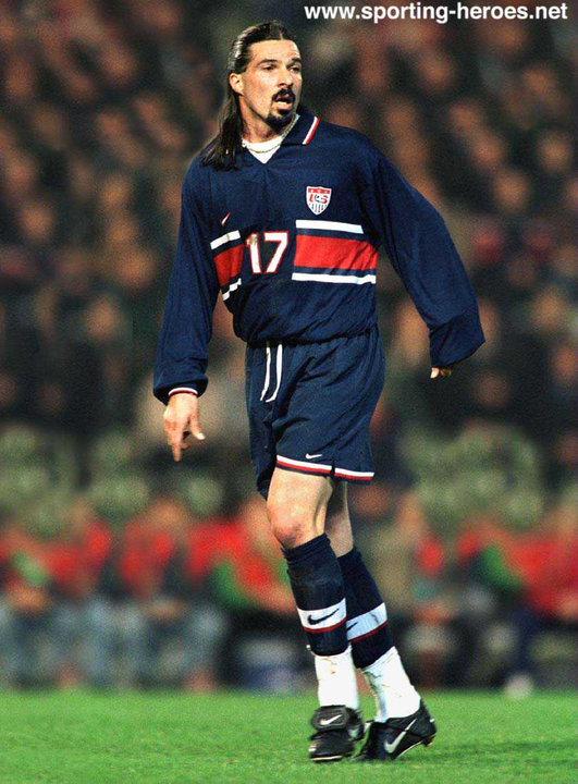 Marcelo Balboa - FIFA World Cup 1998 - U.S.A.