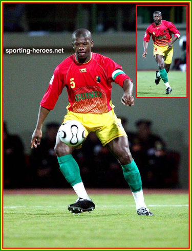 Bobo balde coupe d 39 afrique des nations 2006 guinee - Coupe d afrique des nation ...