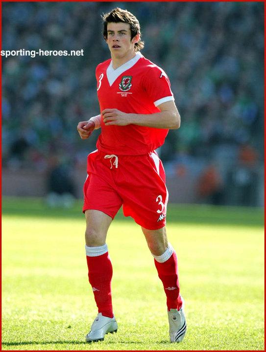 a17b5c9bc Gareth Bale - UEFA European Championships 2008 Qualifying - Wales