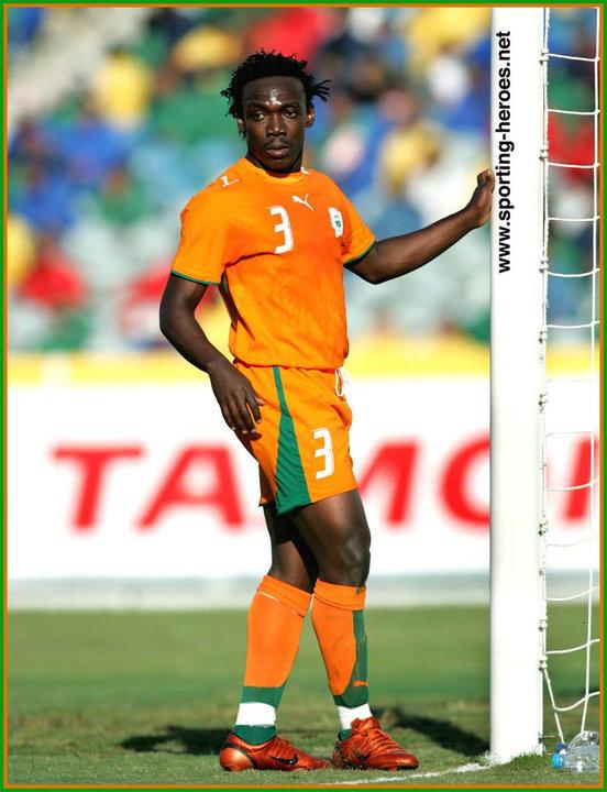 Arthur boka coupe d 39 afrique des nations 2006 cote d - Coupe d afrique des nation ...
