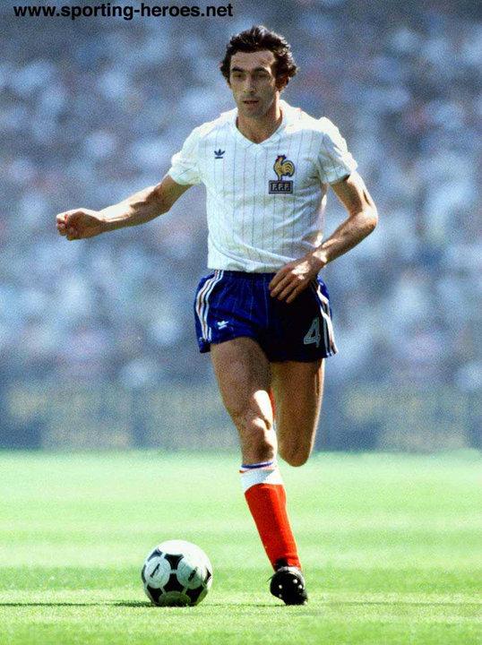 Maxime bossis fifa coupe du monde 1978 1982 france - Coupe du monde france allemagne 1982 ...